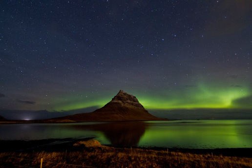 Northern Lights at Snæfellsnes Peninsula