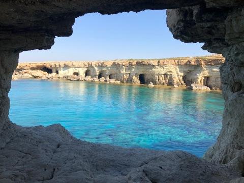 Sea caves, Ayia Napa