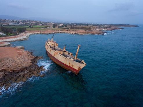 Edro II Shipwreck in Paphos